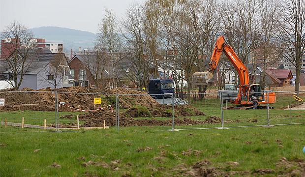 Flüchtlingsheim Kirchdorf: Baugrund wird sondiert