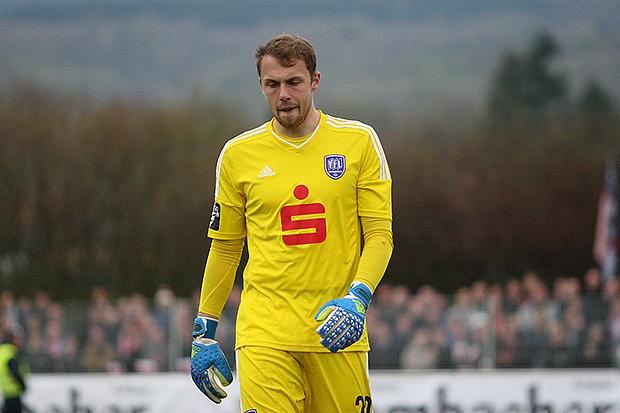 Großes Talent: Gegen Germania gab es für Marvin Schwäbe nichts zu halten.   Fotos: Bratke