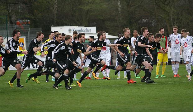 Historisch – Germanen stürmen fulminant in den DFB-Pokal