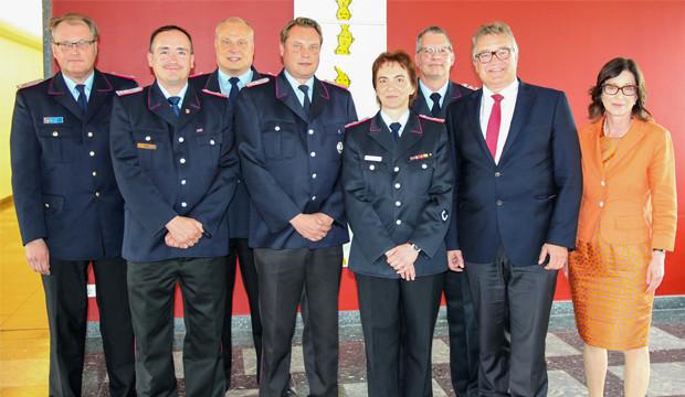 Erstmals eine Frau unter den Abschnittsleitern der Feuerwehr