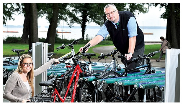 Fahrradbus fährt wieder täglich rund um das Steinhuder Meer