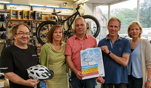 """Samstag Plus unterstützt die Aktion """"Stadtradeln"""" des ADFC"""