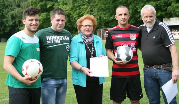 DFB-Preis für TSV-Kicker und ihr integratives Engagement