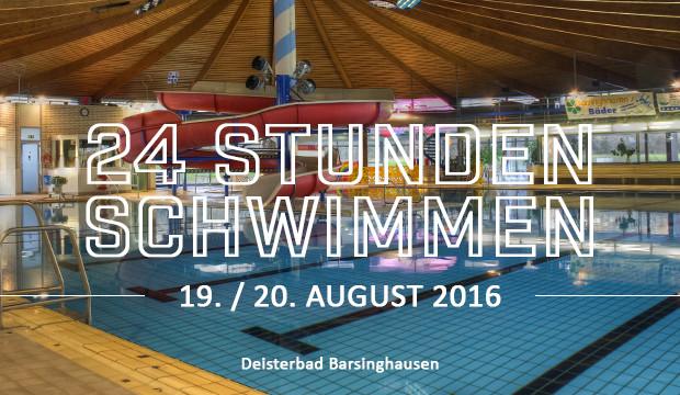 Veranstalterquintett ruft zum 24-Stunden-Schwimmen auf