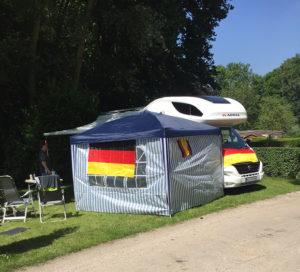 Das Chateau: Recht komfortables Heim der fünf Egestorfer Jungs.
