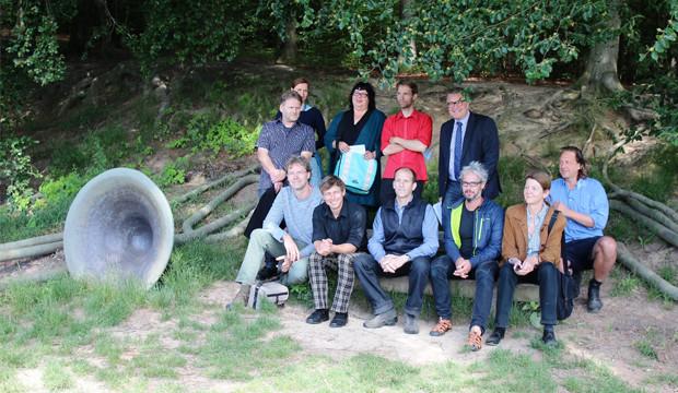 Zehn Künstler setzen Kulturlandschaften in Szene
