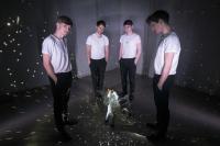 """Synthie-Boys: Die vier Jungs nennen sich """"Einhorn"""" und wollen mit ihrem Debüt vor allem eins: Spaß machen."""