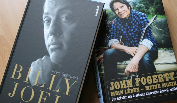 Mitreißende Biografien über zwei lebende Musikerlegenden