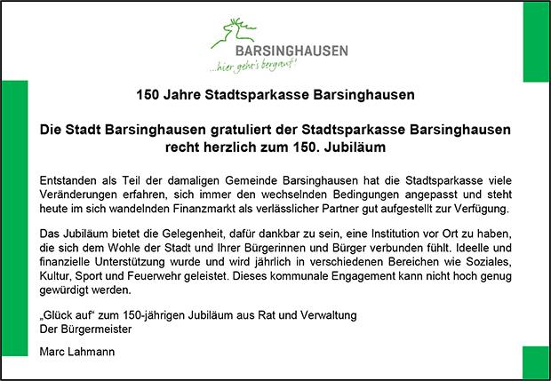 Stadt_Barsinghausen_150Jahre_Stadtsparkasse