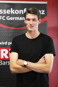 Abwehrspezialist: Marek Waldschmidt freut sich auf Kontrahent Sandro Wagner.