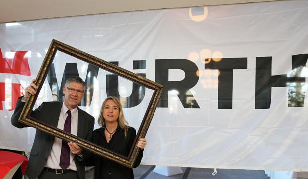 Holger Bratke ist seit 25 Jahren erfolgreich bei der Firma Würth