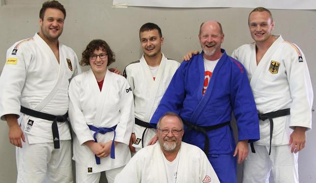TSV-Judoka besuchen Stützpunkt der Olympia-Teilnehmer