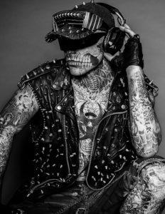 Hoher Bekanntheitsgrad: Zombie Boy. Foto: Christopher Morrison