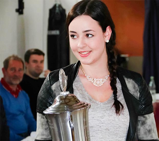 Sportlerin des Jahres: Lisa Marie Plich. Fotos: privat