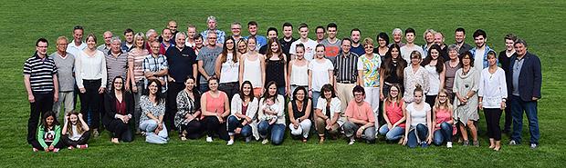 Erinnerungsfoto: Erstmals organisierte der SV Gehrden ein Sommerfest als Dank für seine Ehrenamtlichen. Foto: privat