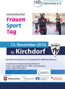 Innovativ: Bereits zum zweiten Mal veranstaltet der TSV Kirchdorf in Kooperation mit dem Regionssportbund Hannover den Interkulturellen Frauensporttag.