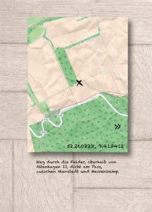Klarer Standpunkt: Zu jedem Foto gibt es eine Karte mit GPS-Daten.