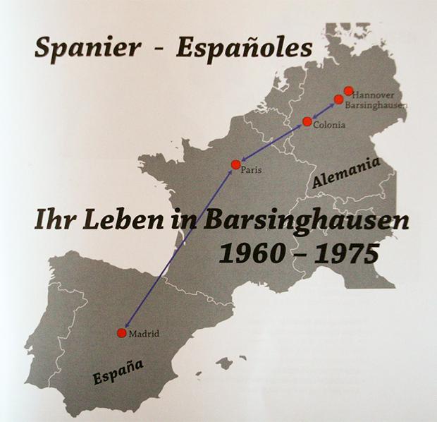 Seit 1960: Der Weg der Spanier nach Barsinghausen und zurück.
