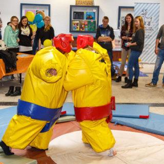Jugendmesse Children in Basche am Sonntag im Schulzentrum