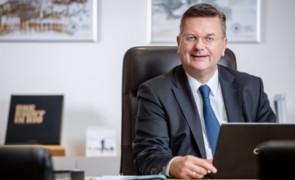 DFB Präsident Reinhard Grindel besucht Gehrden