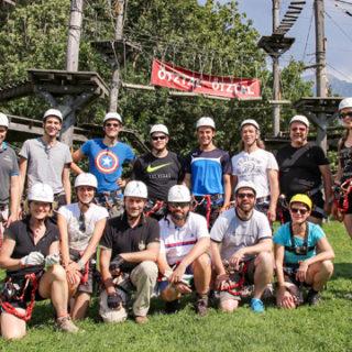 Sportlicher Blocklehrgang als Erlebnistour im Ötztal