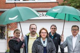 Unser Barsinghausen verleiht Schirme für den Fall der Fälle