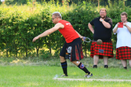 Highland Games auf dem Rittergut Remeringhausen