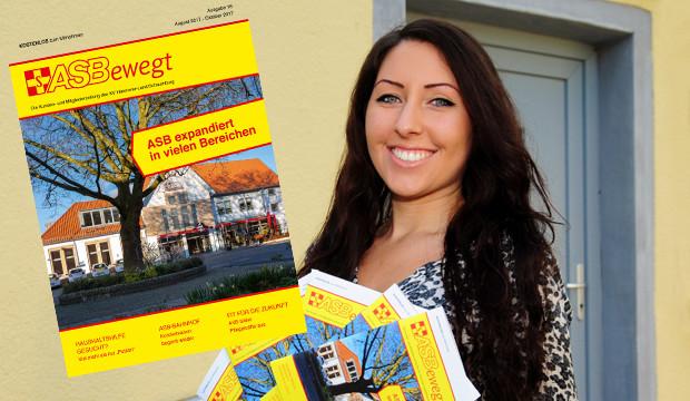 ASB-Quartiersmanagerin Ria Rivora stellt den Stadtteiltreff in der Nordstadt vor