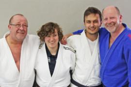 Judo: Intensiv-Training lohnt sich – Brauner Gürtel für Alexandra Baur