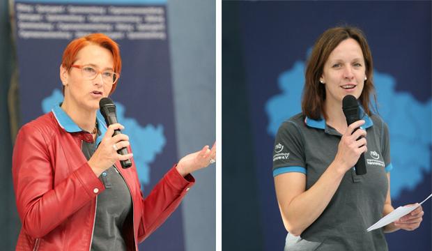 Dagmar Ernst und Anna-Janina Niebuhr.