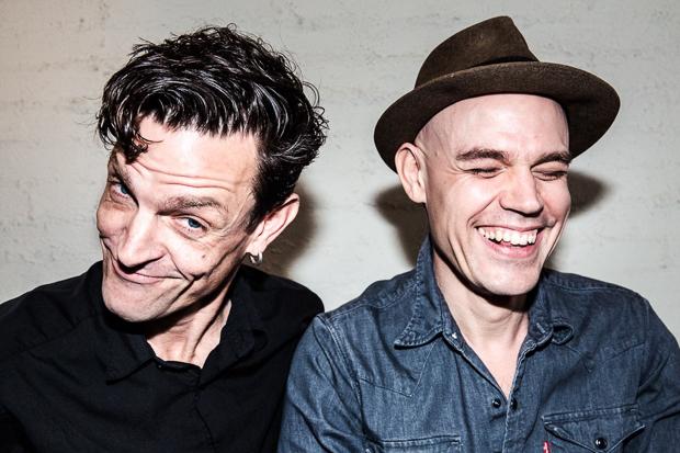 """Tolles Album aus der Schweiz: Luke (links) und Abi Weyermann sind """"the Weyers"""". Foto: Tabea Hüberli"""