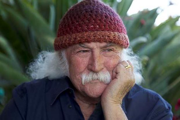 Voller Schaffenskraft: Folk-Rock-Pionier David Crosby, mittlerweile 75 Jahre alt. Foto: Henry Diltz