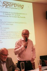 Bilanz eines arbeitsreichen ersten Jahres: SRB-Vorstandssprecher Berthold Kuban.