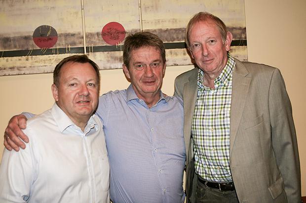 Neu im SRB-Vorstand: Martin Wildhagen, Karl-Heinz Tiemann und Roland John (von links). Fotos: Bratke