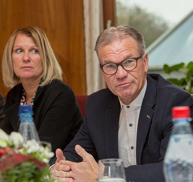 Erfolgreiches Team: Hotel-Geschäftsführer Bernd Dierßen und Hoteldirektorin Kerstin Busch.
