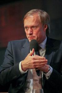 Dauergast: Gerhard Delling moderierte bereits zum fünften Mal die Talkrunde.