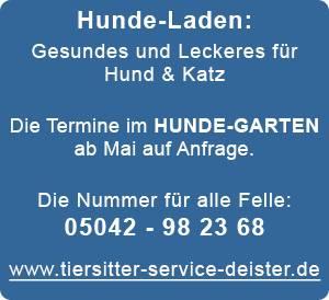 Tiersitter-Service-Deister