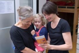 Elternbegleiter im Dialog mit Familien