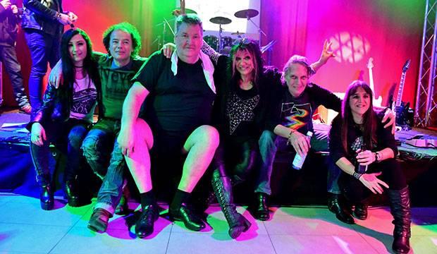 Catena verabschiedet sich: Drummer Jens Meier (dritter von links) ist der Booking-Manager des Kulturvereins.