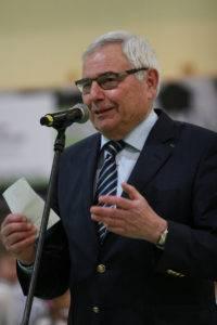 Gab das Amt des Schatzmeister ab: Karl Rothmund aus Langreder.