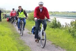 Zum Mitradeln: Sommerradtouren durch die Region Hannover mit Hauke Jagau
