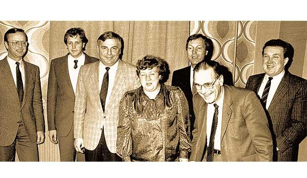 """""""Geschützte Minderheit"""": Karl Rothmund und seine CDU der 1980er Jahre. foto:kasse"""