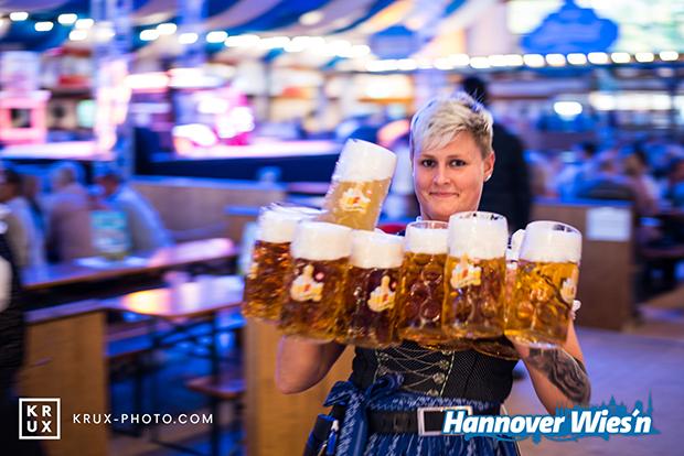 Feiern wie in Bayern: Hannovers Wiesn geht in die zweite Runde.