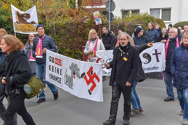 Klare Botschaft: Keine Chance für Nazis.