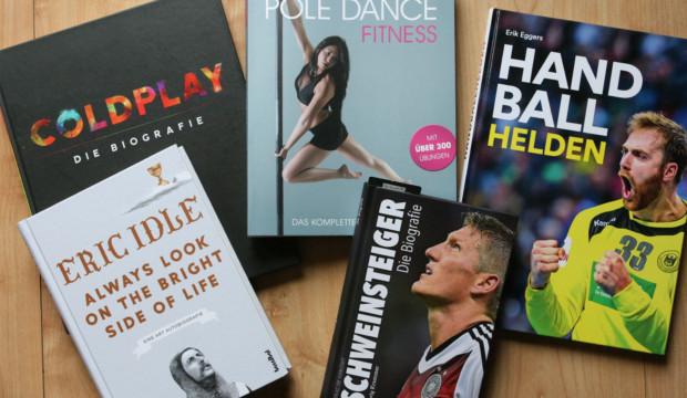 Gemütliche Lesestunden oder aktives Workout – unsere Büchertipps