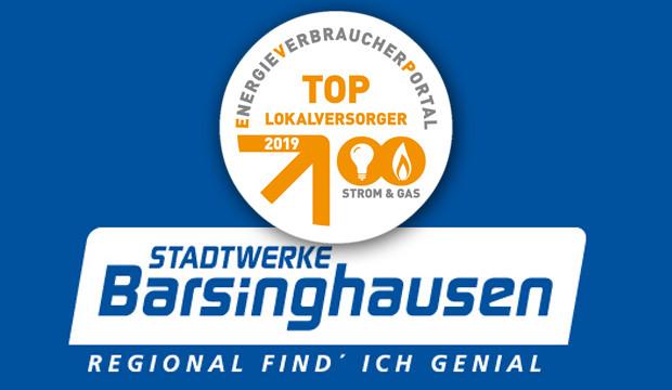 Stadtwerke Barsinghausen sind TOP-Lokalversorger 2019 Strom & Gas