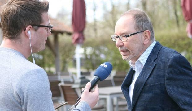 Im Interview: Thomas Slappa (rechts), Sprecher des AK Deister.