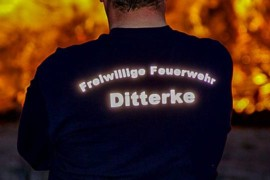 Osterfeuer 2019 in Ditterke