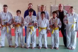 Erfolgreiche Gürtelprüfung bei den Barsinghäuser Judoka