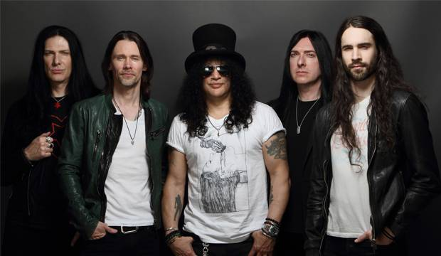 Spektakulär: Slash feat. Myley Kennedy & The Conspirators rocken in der Swiss-Life-Hall. Foto: presshot